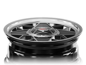 MM500 6,5x16 Black Polished Concave - 1000 Miglia