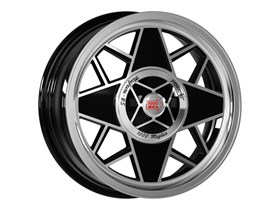 MM500 6,5x16 Black Polished Side - 1000 Miglia